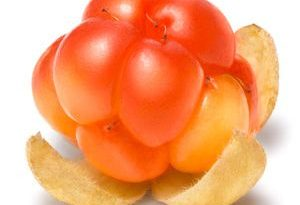 Mora de los pantanos cloudberry Frutas del Bosque