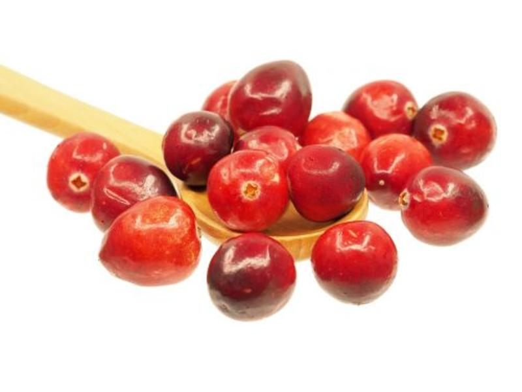 saludables arandanos rojos