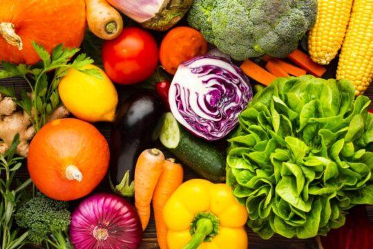 vegetales y verduras paleo