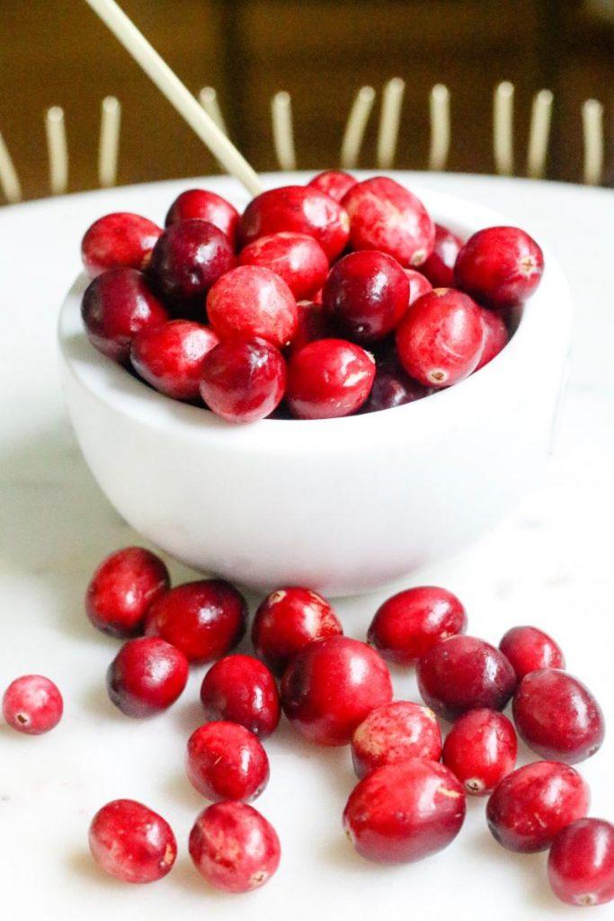 recetas de arandanos rojos