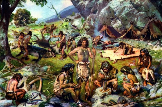 paleolitico cazadores y recolectores