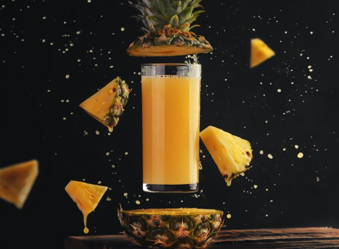 zumo de ananás